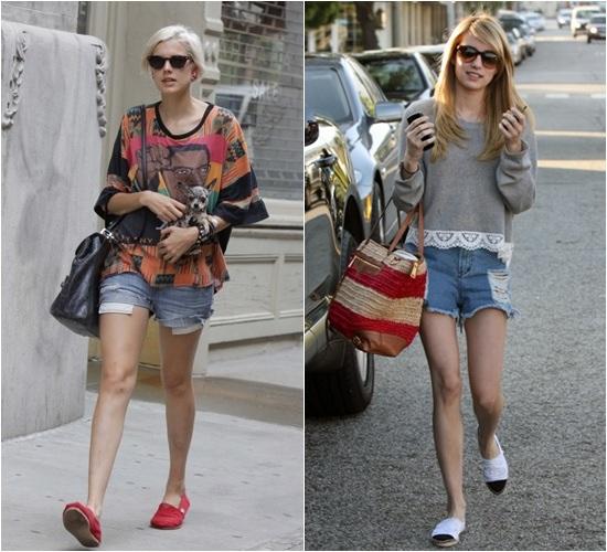 Yo tengo unas alpargatas Roxy que me compré el año pasado, pero hace poquito conocí la marca Wanna de Kent Zamalloa y me enamoré de los modelos!!!