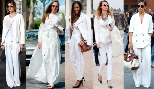 all whiteall white